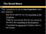 the good news6