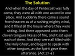 the solution1