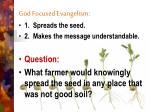 god focused evangelism1