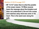 matthew 13 18 23 on page 1517