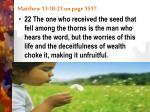 matthew 13 18 23 on page 15172