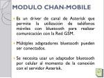 modulo chan mobile