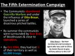 the fifth extermination campaign1