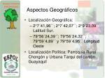 aspectos geogr ficos