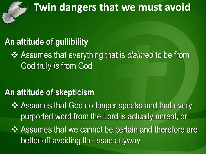 The Danger of Assumptions