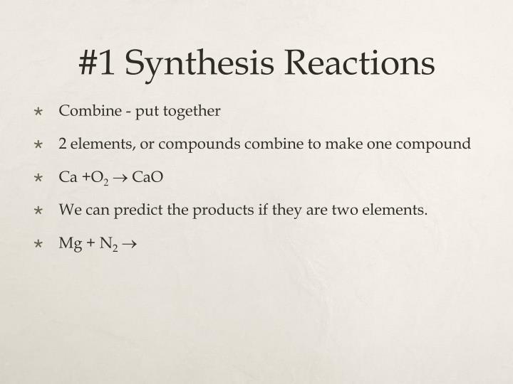Worksheet 2 Synthesis Reactions Checks Worksheet