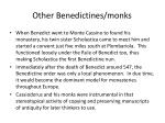 other benedictines monks