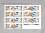 pacific sea surface temperature anomaly forecast