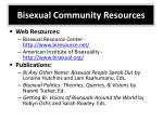 bisexual community resources