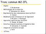 tronc commun m2 ifl