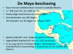 de maya beschaving