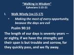 walking in wisdom ephesians 5 15 2110