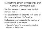 5 3 naming binary compounds that contain only nonmetals