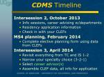cdms timeline1