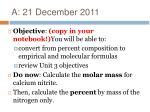 a 21 december 20112