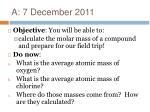 a 7 december 2011