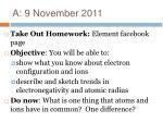 a 9 november 2011