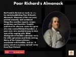 poor richard s almanack