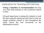 implication for teaching and learning4
