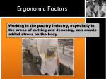 ergonomic factors