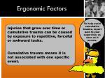 ergonomic factors1