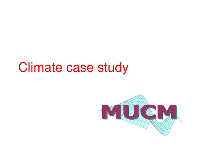 climate case study n.