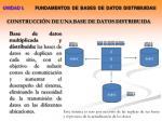 construcci n de una base de datos distribuida1