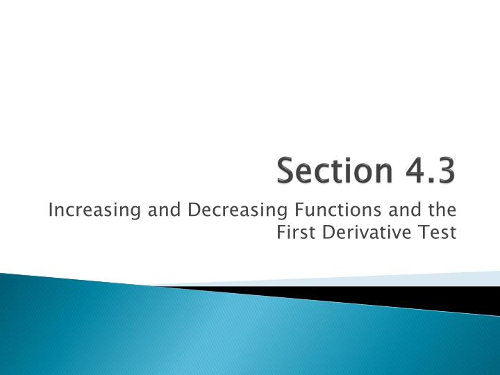 section 4 3 n.