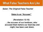 what false teachers are like2
