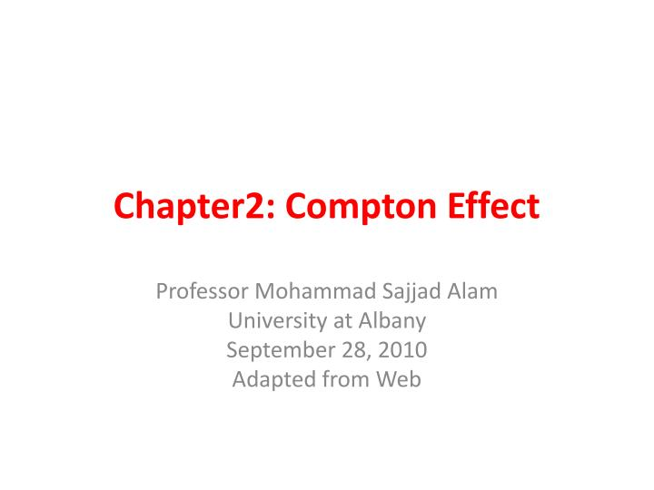 chapter2 compton effect n.
