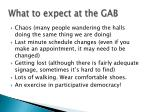 what to expect at the gab