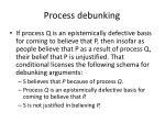 process debunking
