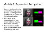 module 2 expression recognition