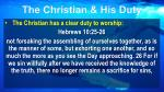 the christian his duty8