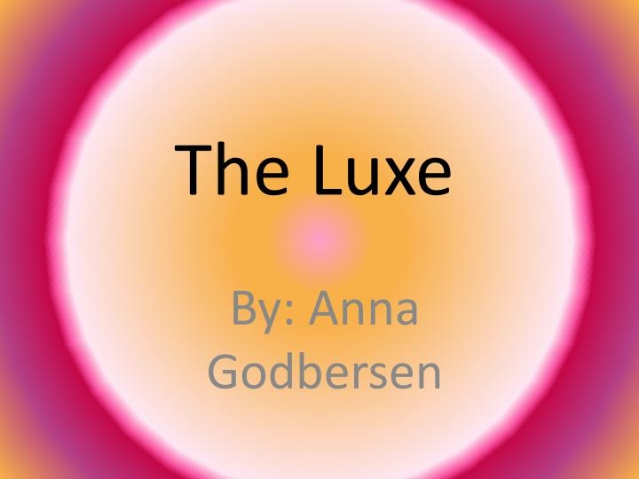 the luxe n.