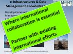 e infrastructures data management knowledge hub1