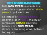 why share electrons
