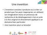 une invention