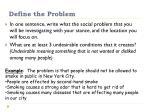 define the problem1