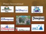 disney international