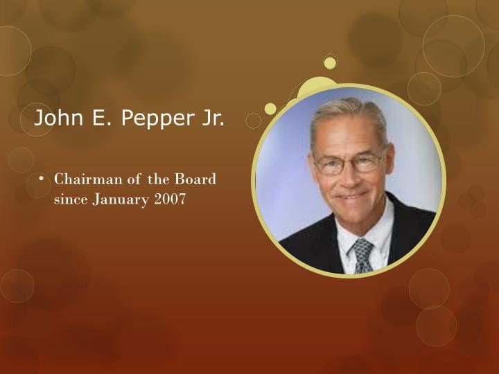 John E. Pepper Jr.