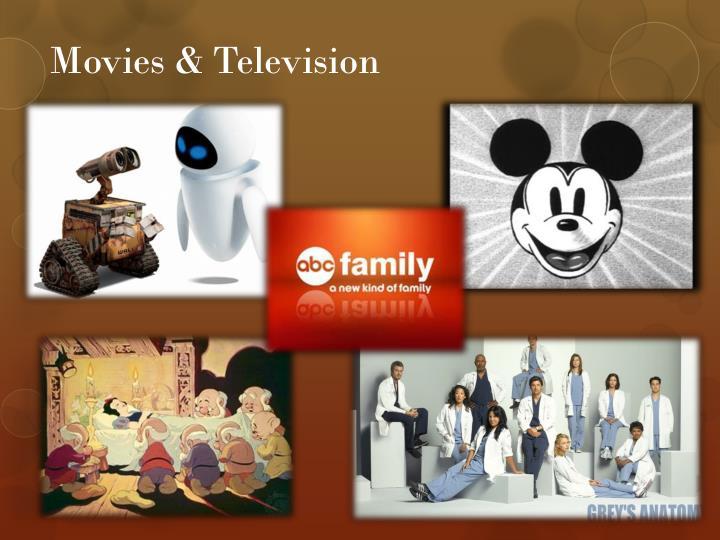 Movies & Television