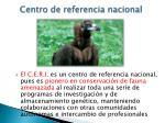 centro de referencia nacional