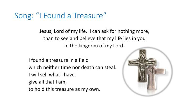"""Song: """"I Found a Treasure"""""""