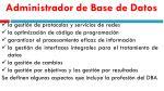 administrador de base de datos8