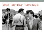 british teddy boys 1950s elvis
