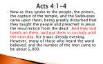 acts 4 1 4