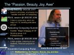 the passion beauty joy awe movement
