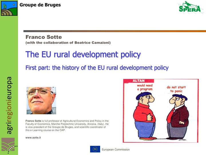 the eu rural development policy n.
