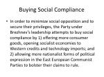 buying social compliance